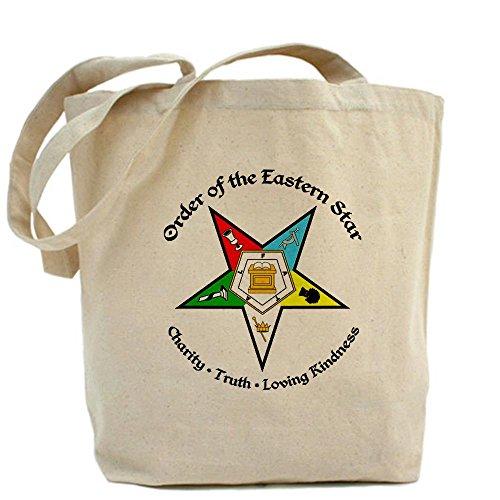 CafePress Eastern Star Tote Bag - Standard Multi-color