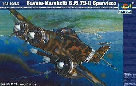 1/48 Savoia Marchetti 79-11 Sparviero