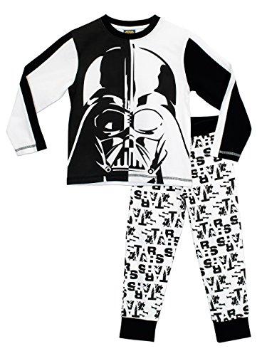 Star Wars - Pigiama a maniche lunga per ragazzi di Darth Vader - 9 a 10 Anni