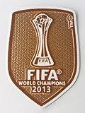 FC Bayern München Fifa 2013 Patch Club World Champions Football Soccer Badge Aufnäher Aufbügler Trikot Flock neu