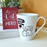 Love Mug for Daddy-Mug 1, Fathers Day Tag 1, mugs for fathers day, ceramic mugs for fathers day, gifts for fathers day, fathers day gifts from daughter, fathers day gifts from son, fathers day gifts from kids, fathers day gifts, birthday gifts for father, birthday gifts for dad, coffee mugs for father, Conical Coffee Mug-GIFTS111709