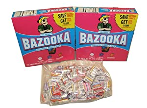 Bazooka Bubble Gum - Assorted Tub 275 Pieces