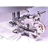 Ruffler Sewing Machine Presser Foot - Fits All Low Shank Singer, Brother, Babylock, Husqvarna Viking (Husky Series), Euro-pro, Janome, Kenmore, White, Juki, Bernina (Bernette Series), New Home, Simplicity, Necchi and Elna Sewing Machines