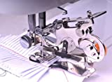 Ruffler Sewing Machine Presser Foot - Fits All Low Shank Singer, Brother, Babylock, Husqvarna Viking (Husky Series), Euro-pro, Janome, Kenmore, White, Juki, Bernina (Bernette Series), New Home, Simplicity, Necchi and Elna Sewing Machines