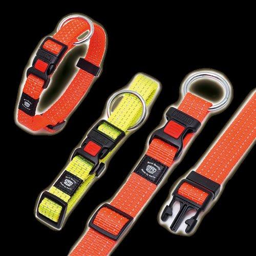 Artikelbild: Karlie ASP Day&Night Halsband, Farbe / Halsumfang, Orange / 30 - 45 cm, Halsband reflektierend