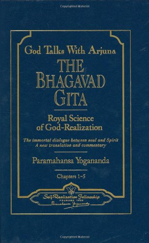 God Talks with Arjuna: The Bhagavad Gita (Self-Realization Fellowship) 2 Volume Set
