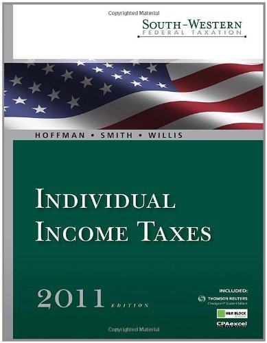 south-western-federal-taxation-2011-individual-income-taxes-professional-version-with-hr-block-homet