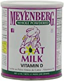 Meyenberg Whole Powdered Goat Milk, Vitamin D, 12-Ounce Cans (Pack of 3)