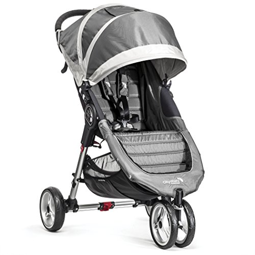 Baby-Jogger-City-Mini-3-Silla-de-paseo-color-gris