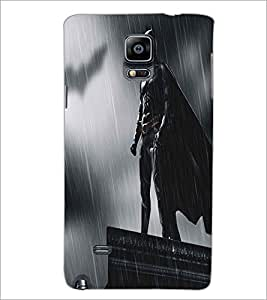 SAMSUNG GALAXY NOTE 4 SUPERHERO Designer Back Cover Case By PRINTSWAG