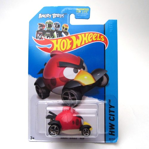 Angry Birds Red '14 Hot Wheels 82/250 Vehicle