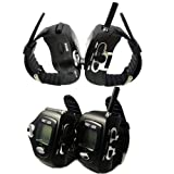 (4-pack) AGPtek® New two-way Fashionable Wrist-operated Wristwatch Walkie Talkie Wrist Watch--Auto Channel Scan--LCD display--Auto Squelch