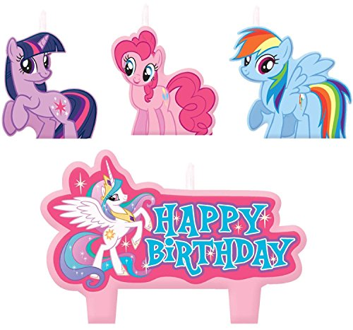 Amscan My Little Pony Birthday Candle Set