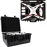 Blurex Professional Rugged Hard Case For DJI Phantom 2 Vision & Vision + (Plus) Quadcopter