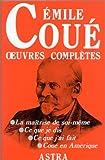 Émile Coué - Oeuvres