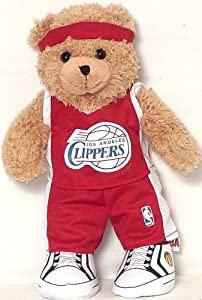 NBA Los Angeles Clippers Hi Topps Teddy Bear by NBA