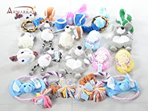 Armarkat Pet Toys for Cats Dogs and Small Animals (TOY3-20PCS)