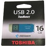 Toshiba THNU16HAYAQUA(BL5 Transmemory 16GB Speicherstick USB 2.0 aqua