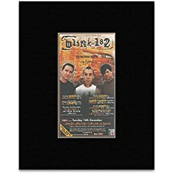 BLINK 182 - UK Tour 2004 Matted Mini Poster - 19.5x11cm