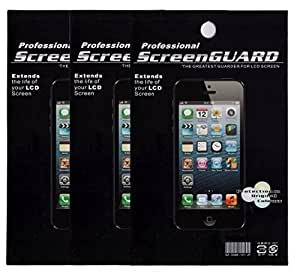 Professional Screen Protector for Nokia Lumia 810 Pack of 3