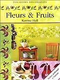 echange, troc Katrina Hall - Fruits et fleurs (pochoirs décoratifs)