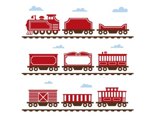 Train Decals For Boys Room