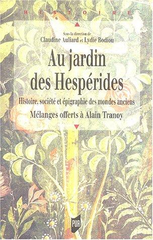 Livres - Le jardin des hesperides ...