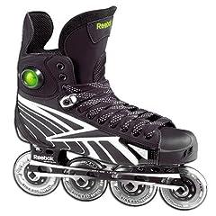 RBK 6K Inline Hockey Roller Skates Size 7.5D by RBK