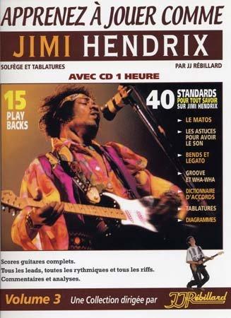 Apprenez à Jouer Comme Jimi Hendrix Tablatures + CD