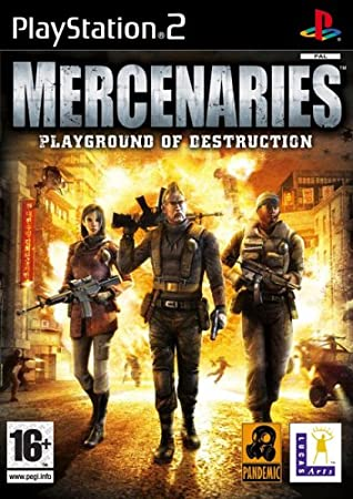 Mercenaries Playground of Destruction (PS2)