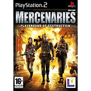 Mercenaries Playground of Destruction (PS2): Amazon.co.uk: PC ...