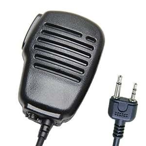 étanche Micro Haut-Parleur Déporté Microphone Pour 2-jack Midland Alan Talkie Walkie