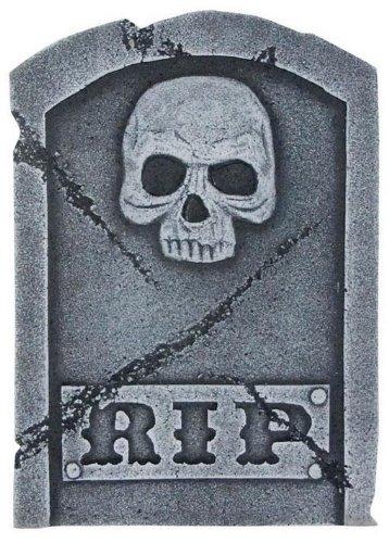 Pietra grave Rip & Skull 40 cm