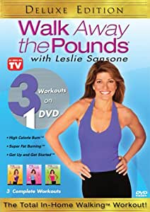 Walk Away the Pounds with Leslie Sansone: Three Complete Workouts (Deluxe Edition)