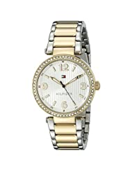 Tommy Hilfiger Women's TH1781599J Analog Display Quartz Two Tone Watch