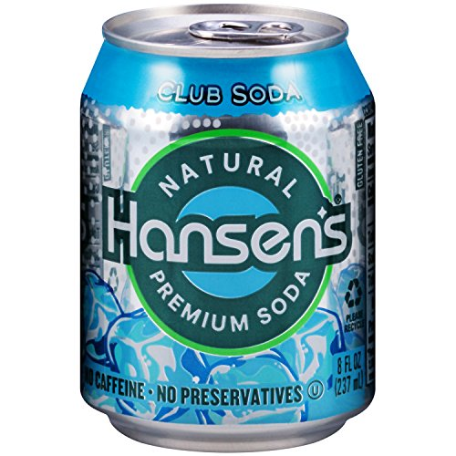 Hansen's Club Soda, 8 Ounce (Pack of 24) (Subscribe And Save Club Soda compare prices)
