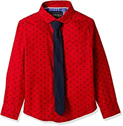 Cherokee Boys' Shirt (267982138_Red_2 - 3 years)