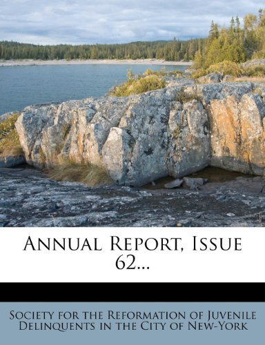 Annual Report, Issue 62...