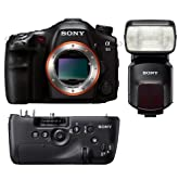 Sony SLT-A99VBDL a99V DSLR Digital Camera Bundle w/ Grip VG-C99AM Flash HVL-F60M
