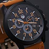 Franterd-Uhren-Unisex-Mnner-Frauen-wasserdichte-Armbanduhr-elegant-Uhr-Zeitloses-Design-Classic-Leather-rmischen-Ziffern-Leder-analoge-Quarz-Armbanduhr-Braun