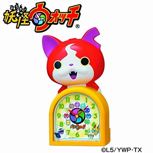 SEIKO CLOCK(セイコークロック) キャラクタークロック 妖怪ウォッチ/ジバニャン JF378A