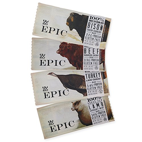 Epic All Natural Meat Bar Sample Pack - 4 Pack