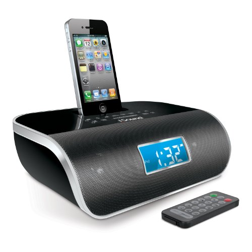 Isound Isound-1669 Dreamtime Pro Fm Clock Radio - Black