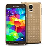 Samsung Galaxy S5 SM-G900A 16GB 4G LTE GSM Unlocked Android Smartphone, (Gold)