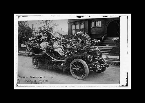 Reprint Annual flower fete, Portland, Oregon 1910