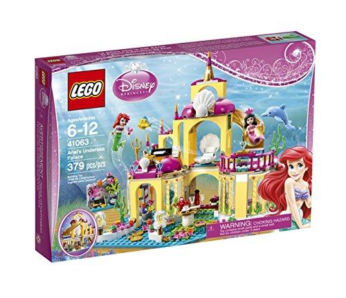 2015年新款,LEGO乐高 Disney Princess 迪斯尼公主系列 41063 美人鱼的海底宫殿图片