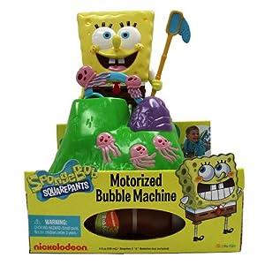 spongebob bubble machine