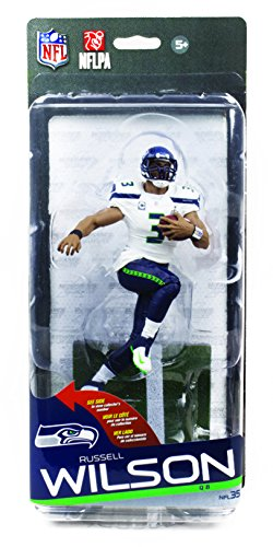 NFL Series 35 McFarlane Action Figure Seattle Seahawks Russell Wilson Gold Va... (Nfl 35 Russell Wilson compare prices)