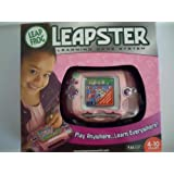 Leap Frog Leapster System Handheld Learning Pink