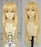 Amagi Brilliant Park Anime Latifah Fururanza Cosplay Wig Blonde Hair